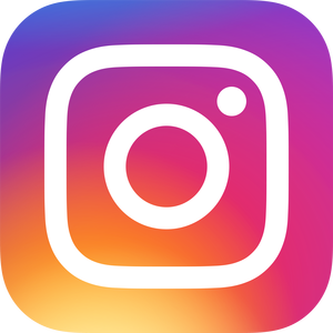 instagram logo on contact us page